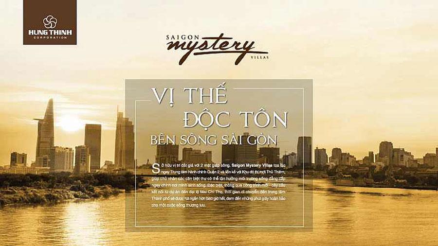 Sai Gon Mystery Villas owns a unique position in District 2