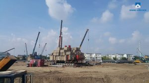 Sapphira Khang Dien is under construction