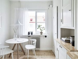 Small table, kitchen corner