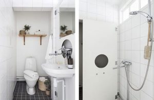The Bathroom with modern equipment