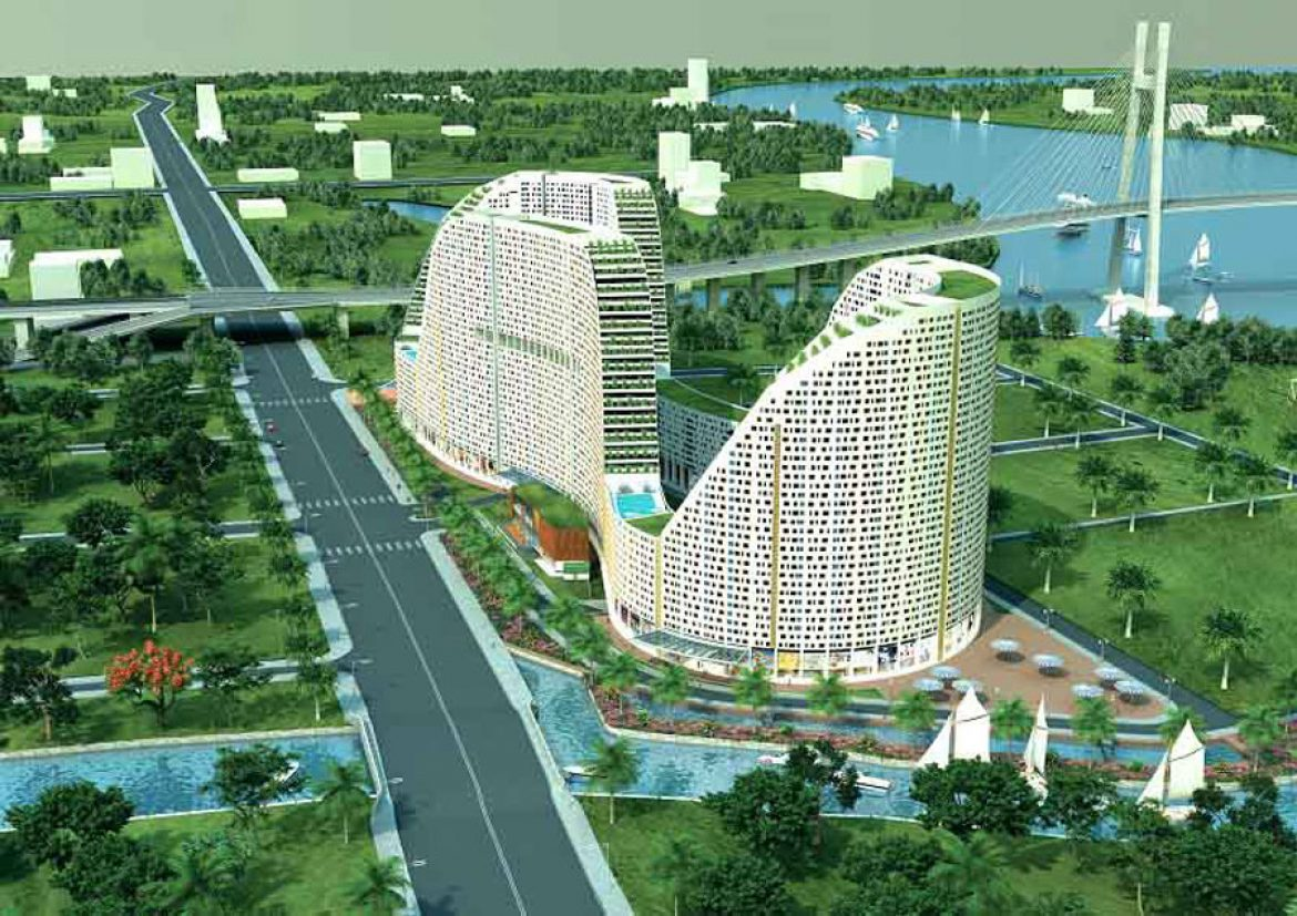 The Saigon South real estate market