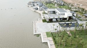 The Sales Gallery and Marina at Swan Bay are under development