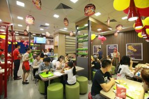 The four-star culinary area