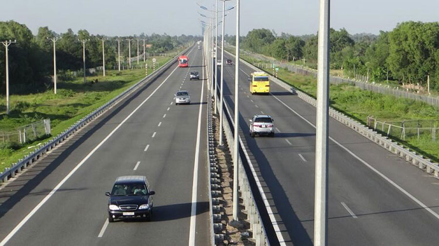 The large high-speed routes formed to bring Vung Tau closer to other provinces