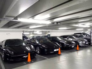 The potential for renting parking lots is very large