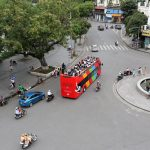 Ha Noi: Opening of convertible buses through many streets