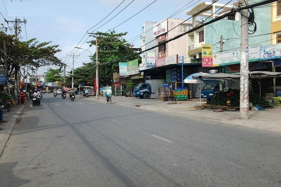 A corner of Do Xuan Hop Street District 9