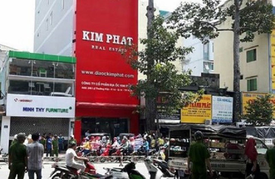 A series of real estate projects in Dong Nai show signs of fraud