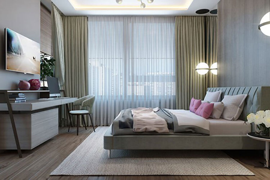 All interior design is very simple