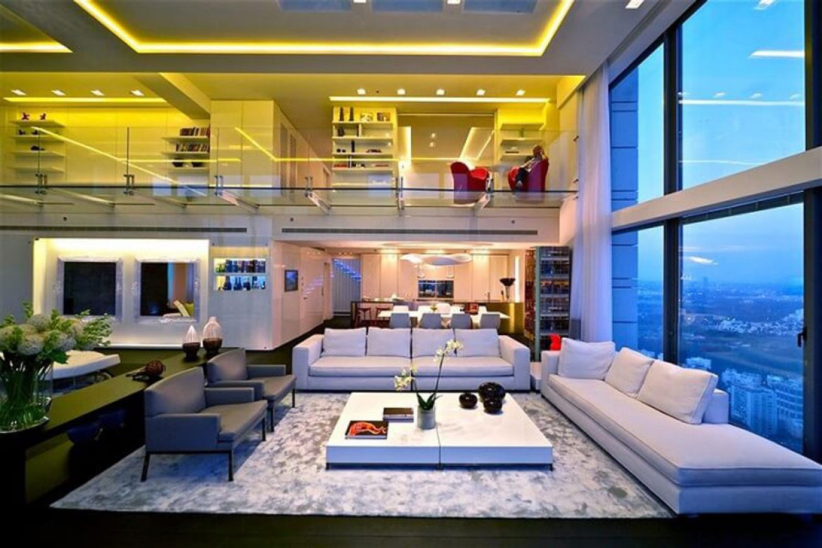Apartment design project Penthouse Vinhomes Central Park