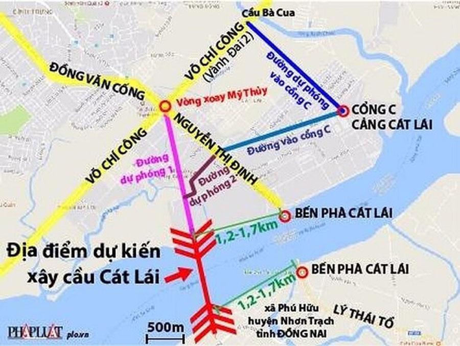 Cat Lai Bridge Construction Project.