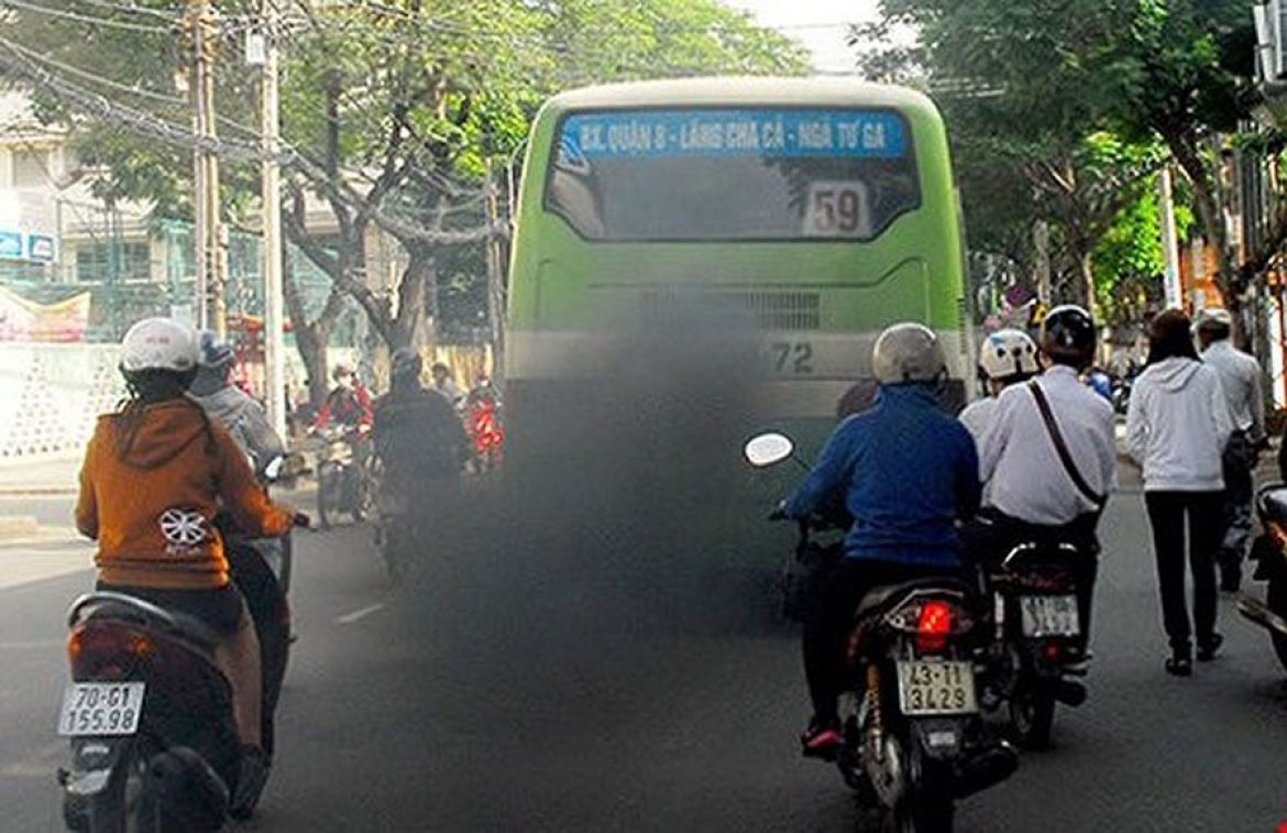 Check the emissions of trucks, buses