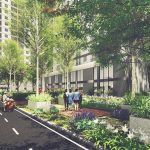 What are residents benefited from Sunshine Avenue apartment project ?