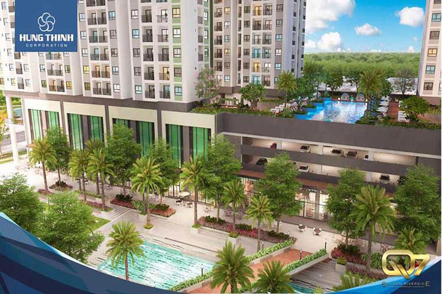 District 7 Apartment Saigon Riverside owns 50 outstanding facilities
