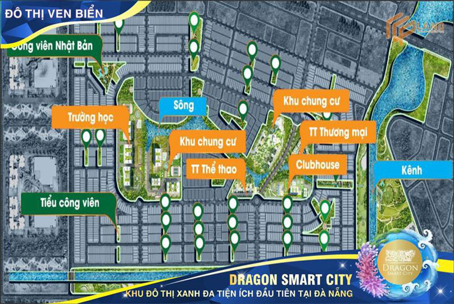Dragon Smart City - the leading a green urban of Da Nang