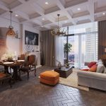 Why are small luxury apartments along West Lake huntted by investors?