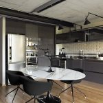 35sqm apartment is more spacious thanks to the mezzanine