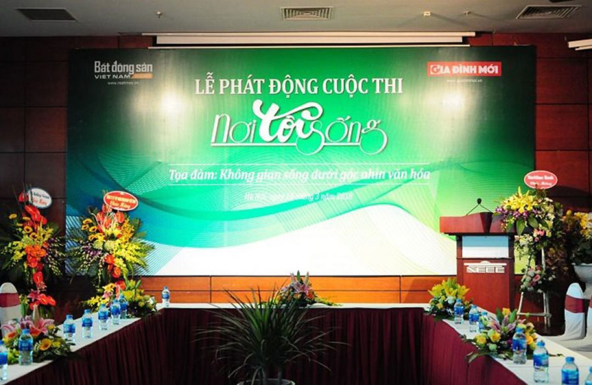 Launch the writing and photo contest abput 'Where I live'