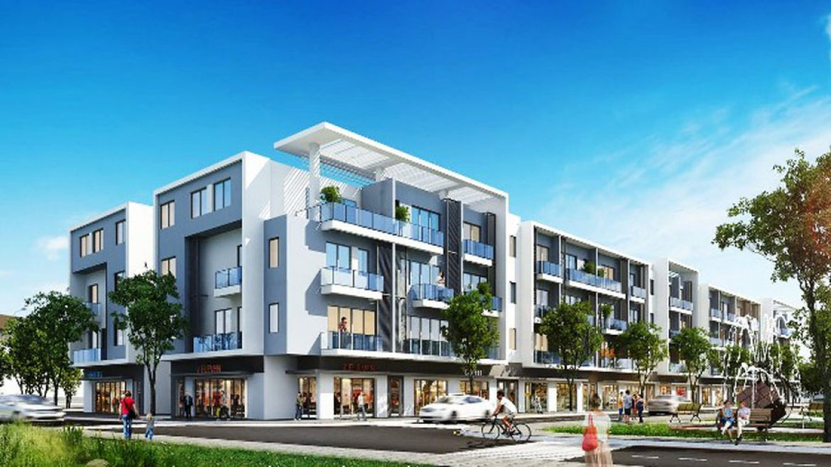 Luxury house in Thuan Phuoc new urban area.