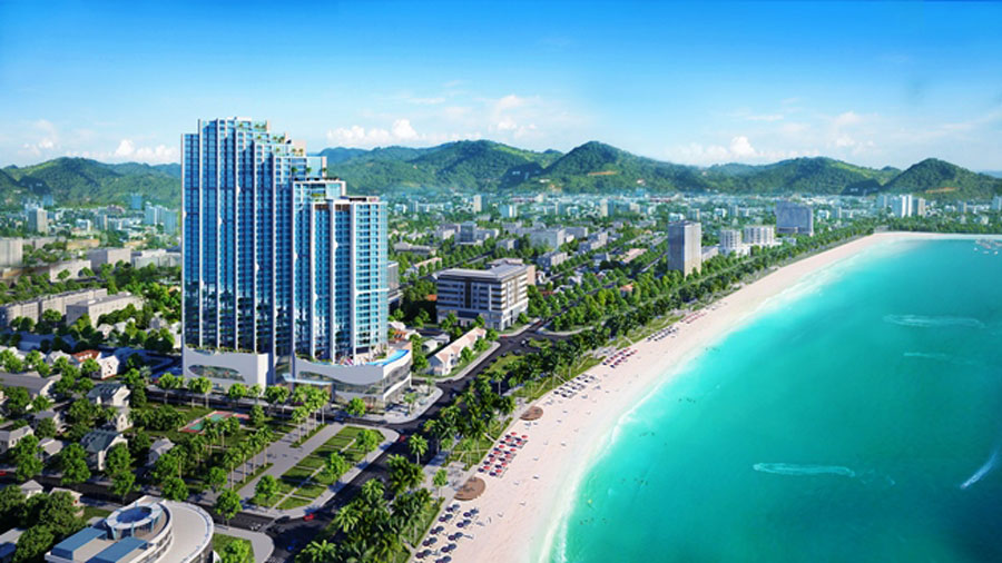 Nam Tien Lao Cai held a ceremony to introduce Scenia Bay project in Nha Trang