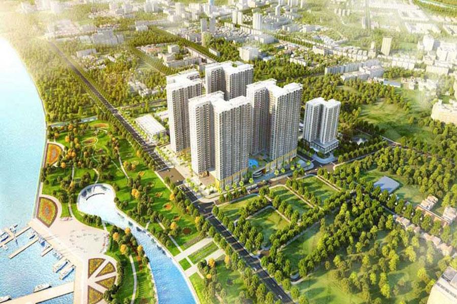 Saigon Riverside apartment project