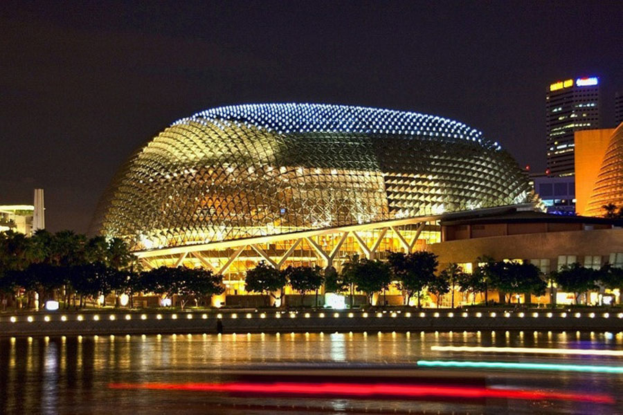 Singapore's Esplande Theater