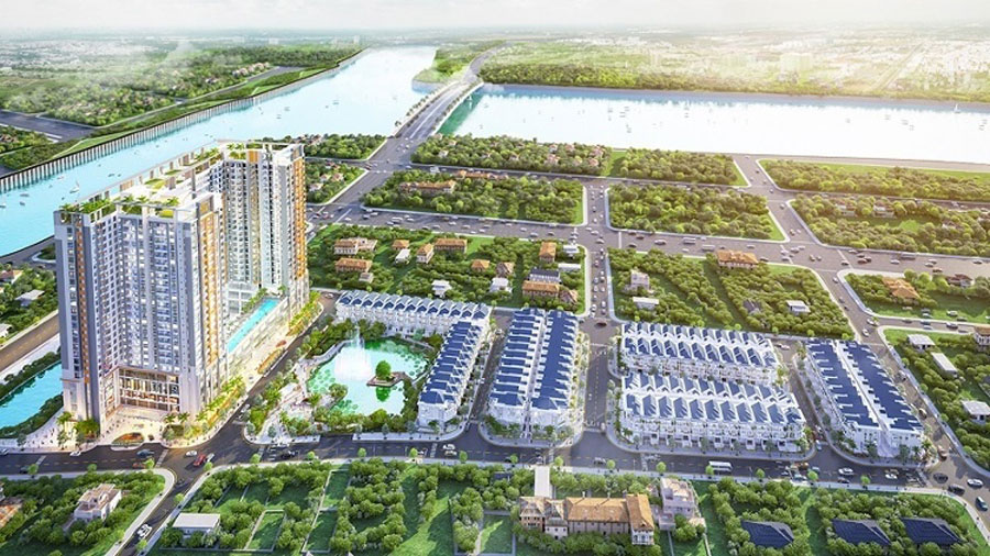Investor Green Star Sky Garden strongly hands large sums of money invested in utility to serve foreign customers