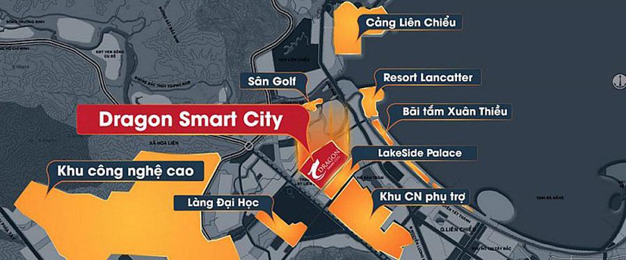 Strategic location of Dragon Smart City