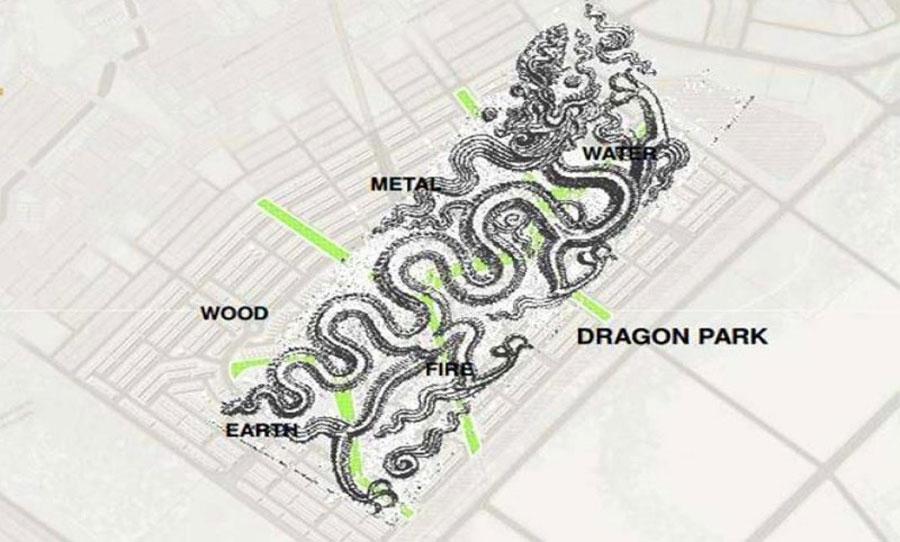 The design concept is unique in Dragon Smart City Da Nang