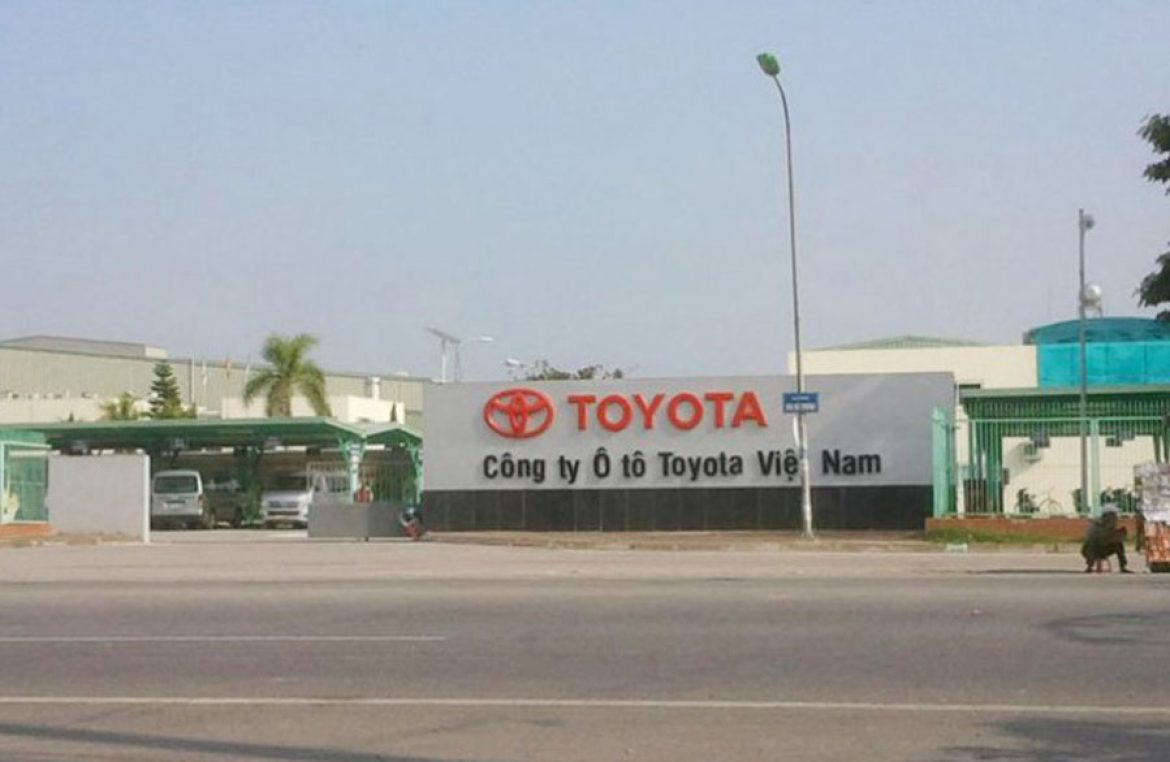 Vinh Phuc People's Committee proposed for Toyota Vietnam to lease land not through auctions