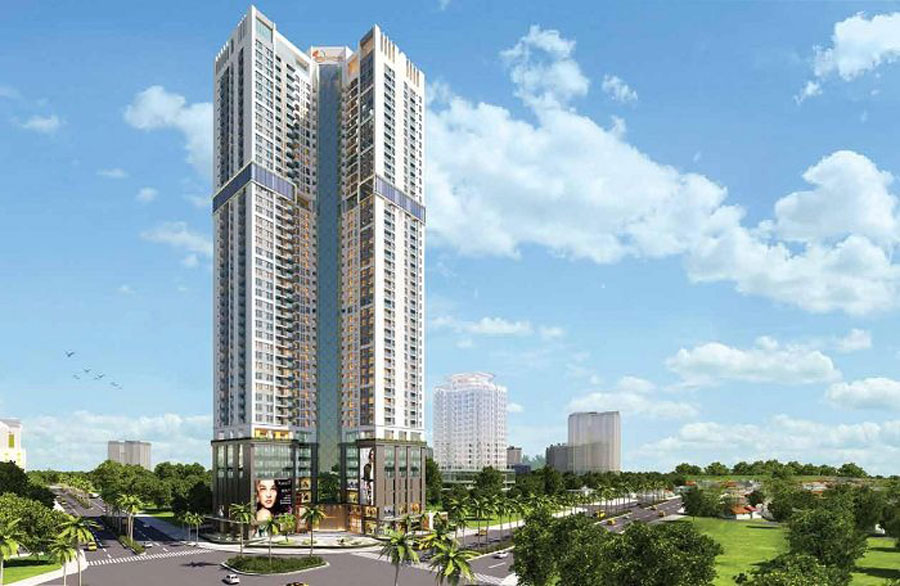 project Golden Park Tower Cau Giay