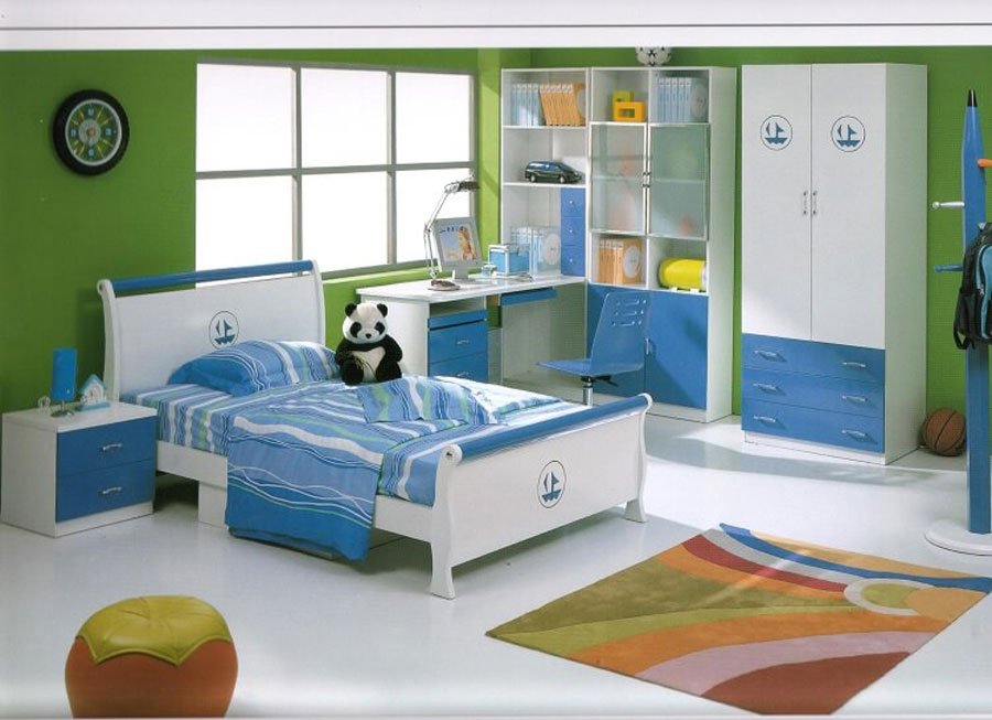 Children's bedroom should use lightweight materials, safe