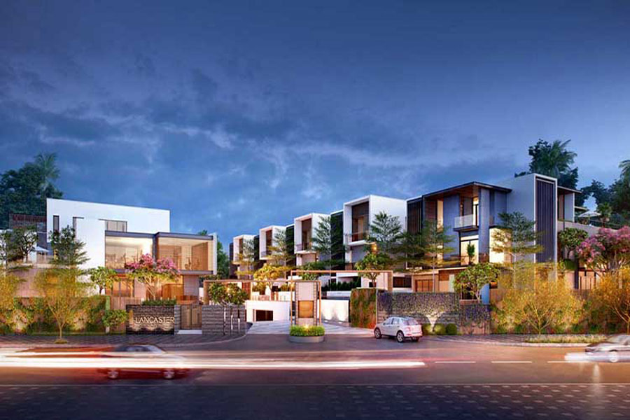 District 2 leads the whole city. HCM on the price increase of villas, townhouses