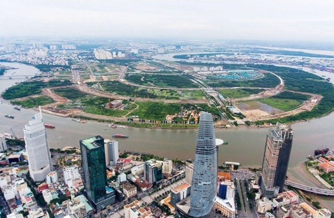 HCMC office market Ho Chi Minh City in 2017 marked the mark of Class A office segment