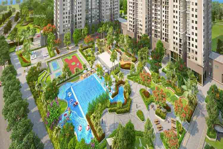 Highly diversified and high-grade facilities at the GS Metrocity project in Nha Be
