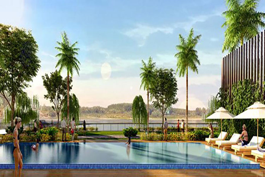 Luxury Pool Access at Jamona Sky Villas