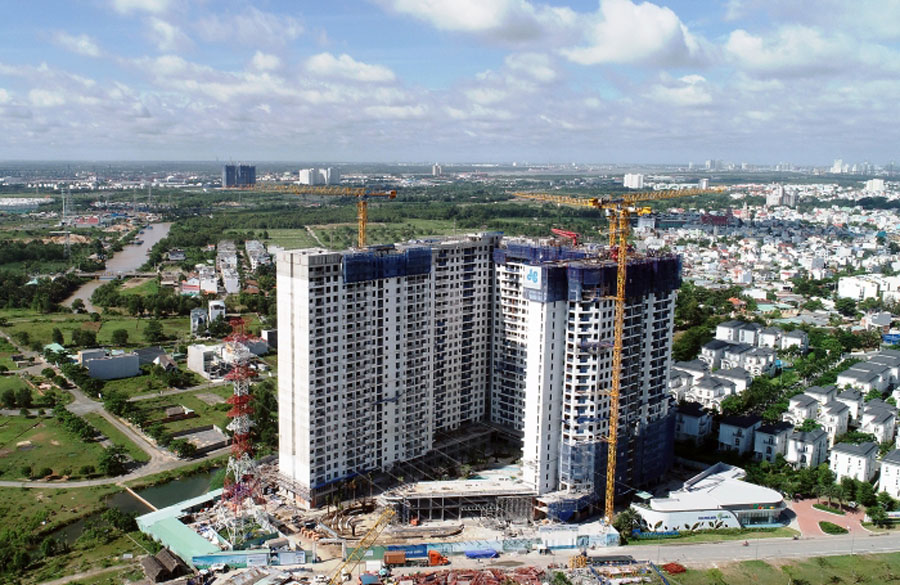 Jamila high rise apartment building is the first Hoa Binh project to cooperate with Khang Dien.