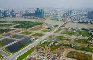 Land price in Thu Thiem new urban area is up to VND 169 million / sqm