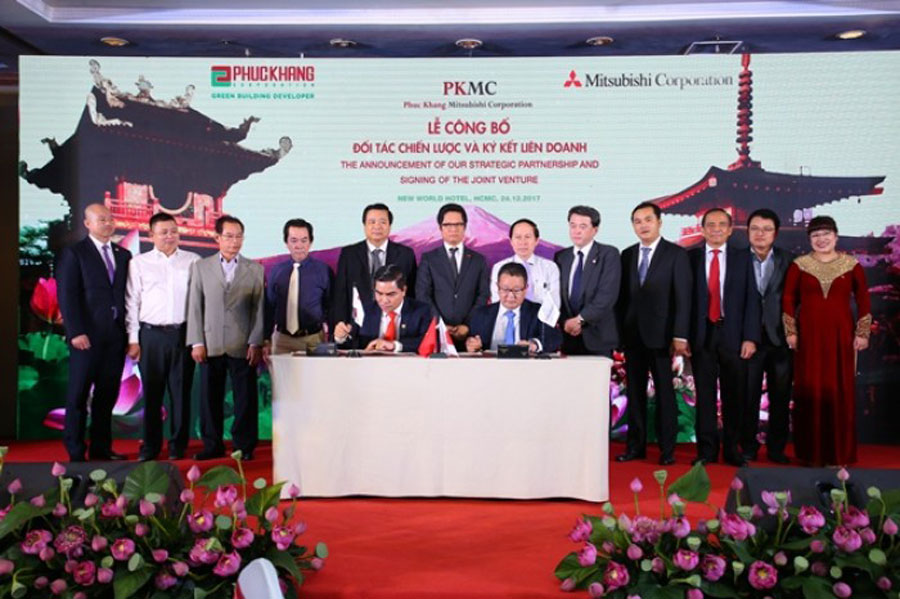 Mitsubishi attacked the real estate market