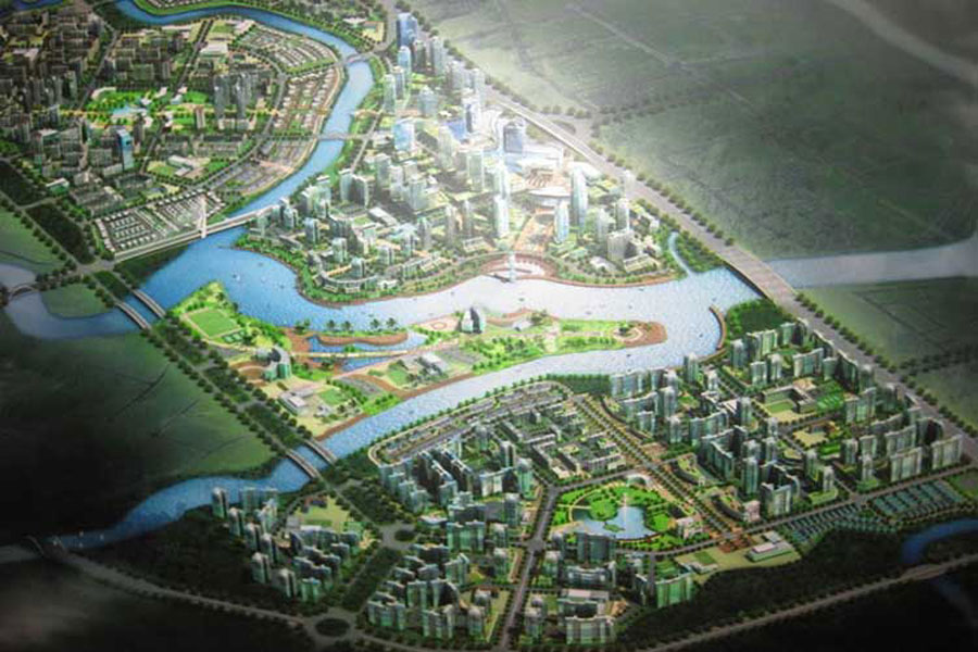 "Overview of the project ""crisis"" GS Metrocity Nha Be"
