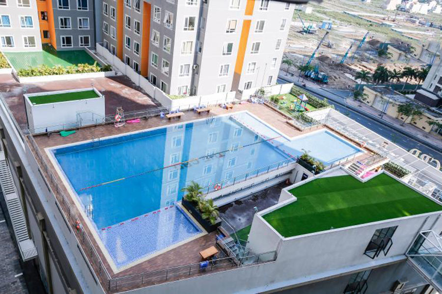 Perfectly furnished apartments are facilities available