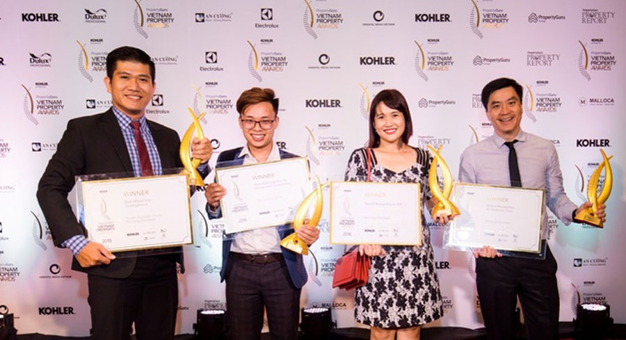 Phu Long won many awards of PropertyGuru Vietnam Property Award 2018