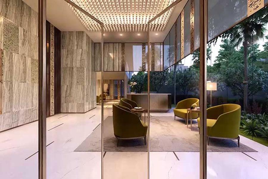 Reception hall at Serenity Sky Villas
