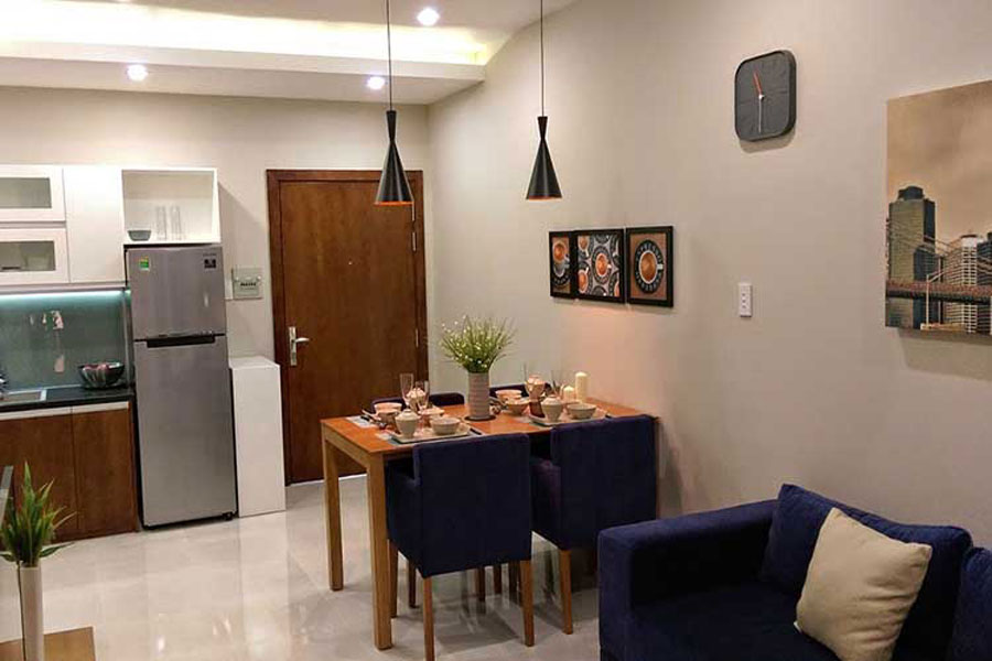 Sample apartment at District 7 Jamona Sky Villas