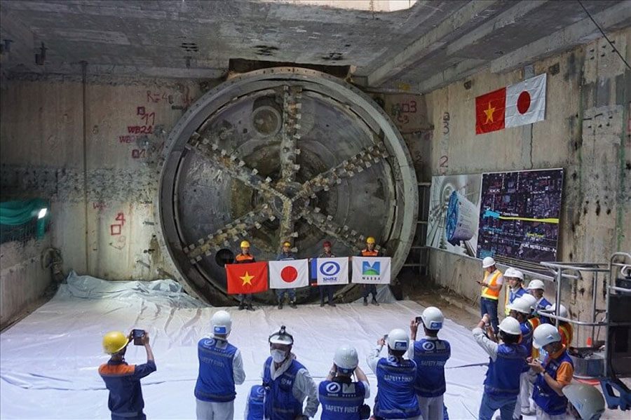 The second metro tunnel
