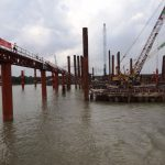 It took half a year to restart the tide-building works of 10,000 billion