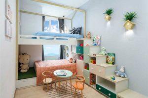 Bedroom for children at Charmington Iris