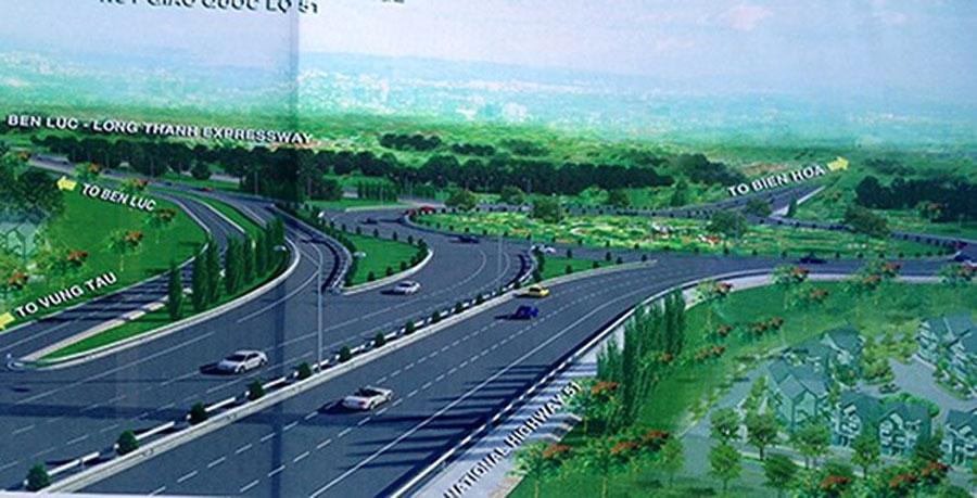 Ben Luc-Long Thanh expressway