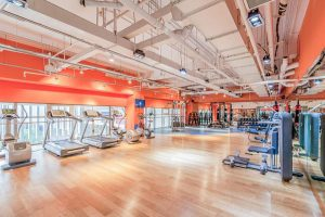 High-end gym at Diamond Island Project