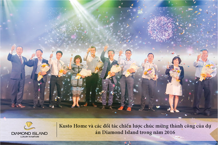 Kusto Home and its strategic partners celebrate the 2016 project's success